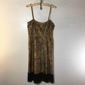 Tocca spaghetti strap dress.